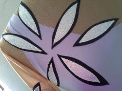 justaucorps orchid details