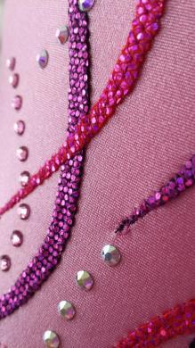 justaucorps pink details 2